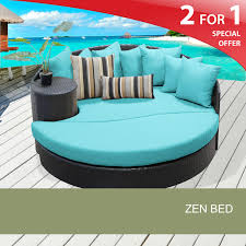 Turquoise Patio Furniture by Outdoor Patio Bed Zen Outdoor Furniture Design Furnishings