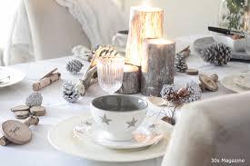 a rustic chic christmas table setting u2013 30s magazine