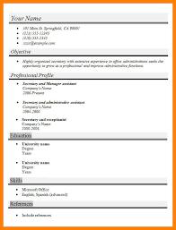 Administrative Secretary Resume Sample 100 Secretary Resume Template 6 Unit Secretary Resume Mla Cover
