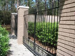metal garden fencing ideas home outdoor decoration