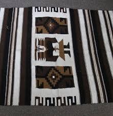 Chimayo Rugs Hand Woven Chimayo Rug Ebth