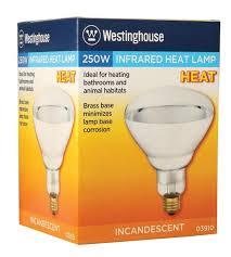 westinghouse r40 250 watt medium base incandescent soft glass