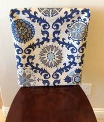 Chair Back Covers For Dining Room Chairs Transform The Look Of A Dining Room Chairs Easily With Fabric With