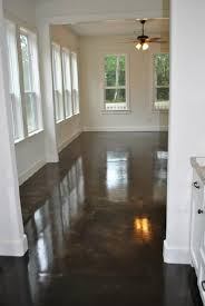 Tile On Concrete Basement Floor by Diy Stained Concrete Basement Floors Wonder If This Will Be Good