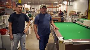 how to refelt a pool table video how a valley panther coin operated pool table is made youtube