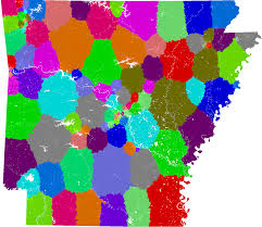 Ohio Congressional District Map by Arkansas House Of Representatives Redistricting