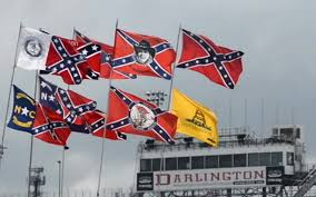 Don T Tread On Me Confederate Flag This Is My Tradition U0027 Confederate Flags Still Fly At Darlington