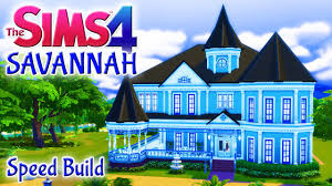 the sims 4 house build savannah victorian family home with pool