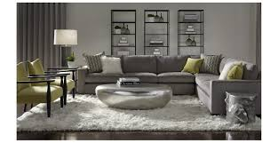 mitchell gold bob williams carson sectional slate gray and lime