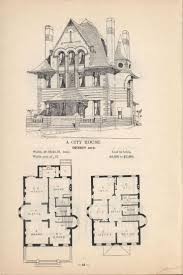 Victorian Mansion Blueprints by 17 Best Floor Plans Images On Pinterest Vintage Houses Vintage