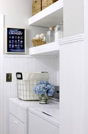 articles with open shelf laundry room tag shelves in laundry room