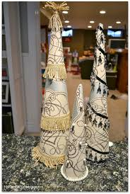 74 best cone trees images on pinterest merry christmas