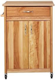 amazon com catskill craftsmen butcher block cart with flat doors amazon com catskill craftsmen butcher block cart with flat doors bar serving carts
