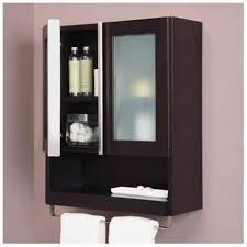Espresso Bathroom Wall Cabinet Eye Catching Bathroom Wall Cabinet Towel Bar Cabinets On Espresso