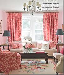 Red Drapery Fabric Cote De Texas Curtains Top Ten 4
