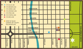 Map Of Cta Chicago by City Of Chicago Chicago Summerdance Plan Your Visit