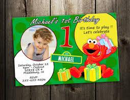 elmo 1st birthday invitation u2013 orderecigsjuice info