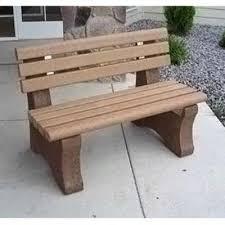 diy concrete bench molds