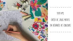 Créer de jolis motifs en dégradés de couleurs   Coloriages