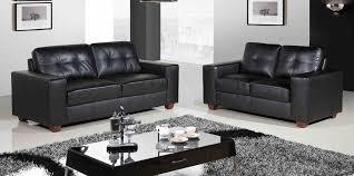 Modern Leather Couch Set Sofas Center Shocking Black Sofa Set Picture Ideas Home Paris