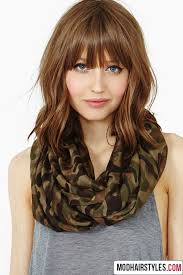 mid length hair cuts longer in front best 25 medium haircuts with bangs ideas on pinterest hair cuts