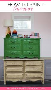 Furniture Paint How To Paint Furniture