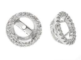 earring jackets for studs 18k diamond stud jackets stud earring jackets earrings