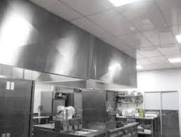 faux plafond cuisine professionnelle dalles de plafond suspendu pour labo cuisine professionnelle