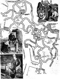 Agartha Map A 1934 Map Of The Secret Lizard City Under Los Angeles