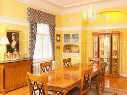 Yellow Dining Room Ideas Bloombety Yellow Paint Dining Room In The House Simple Ideas To
