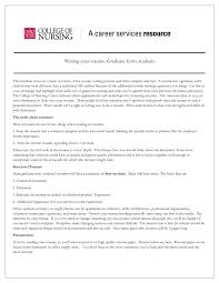 Nursing Resume Samples For New Graduates by Cover Letter New Graduate Nurse Resume Sample New Grad Nurse