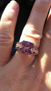 Amethyst Wedding Rings by Best 25 Amethyst Wedding Rings Ideas On Pinterest Purple