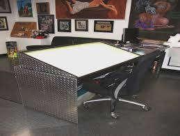 Drafting Table With Light Box Larry Brogan A Lightbox Makes Tracing Easy Artist