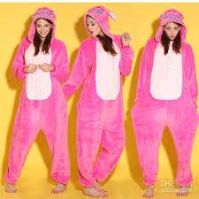 animal pink stitch unisex onesies onesie pajamas