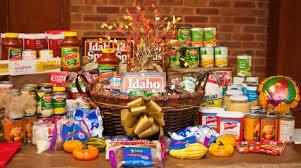 thanksgiving food baskets food
