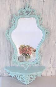 dipingere cornici specchio cornice colori pastello shabby chic