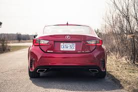 lexus rc 350 review 2017 lexus rc 350 awd canadian auto review