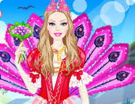 barbie island princess dress games