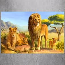 King Home Decor Online Get Cheap Lion Poster King Aliexpress Com Alibaba Group