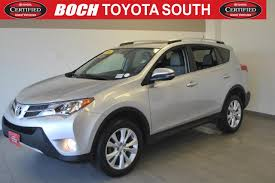 boch toyota south used cars used certified one owner 2015 toyota rav4 awd 4dr limited