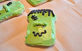 how to create a frankenstein cookie for halloween celebrate