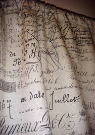 Shower Curtains With Writing 16 Best Toile And Script Fabrics Images On Pinterest