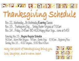 thanksgiving schedule midland works