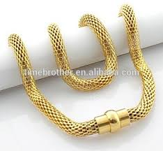 necklace gold men images 18k gold men 39 s necklace stainless gold mesh chain necklace fashion jpg