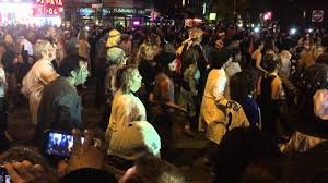 where is the halloween parade in new york city thriller dancers halloween parade nyc 2014 youtube