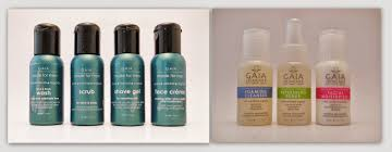 Luminesce Skin Care Review Product Review Travel Friendly Skincare Packs From Gaia The