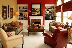 wall colors with red furniture house decor picture