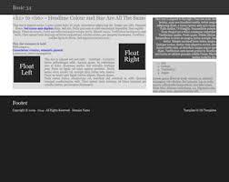 basic 34 free html5 template html5 templates os templates