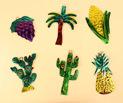 painted tin ornaments mexico object lessons ceremony