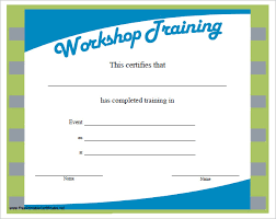 trainer certificate template exol gbabogados co